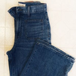 Madewell wise leg jeans